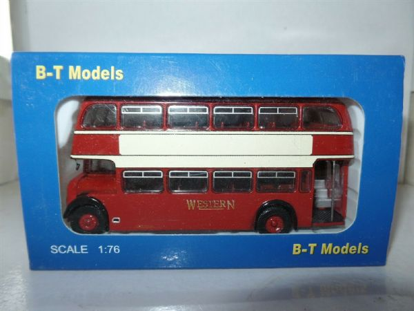 B T Models B107A 1/76 OO Scale Bristol Lodekka Bus Western Scottish SMT Woodall